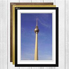 Gerahmtes Poster Alexanderplatz Berlin Germany,