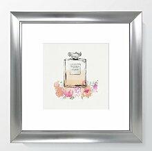 Gerahmtes Poster Couture Eau de Toilette Paris II