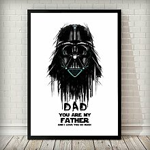 Gerahmtes Poster Dad You Are My Father East Urban