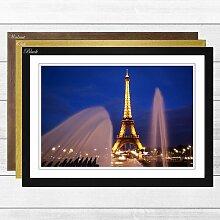 Gerahmtes Poster Eiffelturm Paris (3), Fotodruck