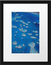 Gerahmtes Poster Korallenriffe Australien East