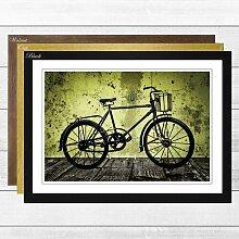 Gerahmtes Poster Vintage Retro Bike Bicycle,