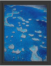 Gerahmtes Wandbild Korallenriffe Australien East