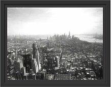 Gerahmtes Wandbild New York City Panorama Kunst