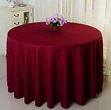 Gerenic Tischdecken Runde Tischdecke Mit 200 cm