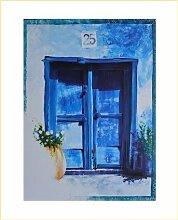 Germanposters Hoffmann Blaues Fenster Poster