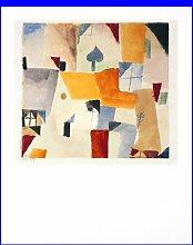 Germanposters Paul Klee Fenster Poster Kunstdruck