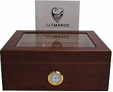 GERMANUS Humidor Classic Desk, Braun für ca. 50