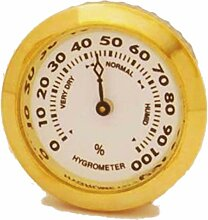 GERMANUS Hygrometer als Ersatz für Humidor 35 mm,