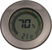 GERMANUS Kalibrierbarer Hygrometer für Humidor,
