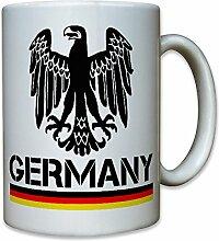 Germany Deutschland Adler BRD Fahne Flagge - Tasse Becher Kaffee #10213