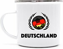 Germany Wappen Fussball WM Fanfest Metalltasse