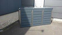Gero metall Mülltonnenbox Aluminium, Campa Line