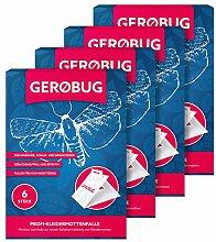 Gerobug Kleidermottenfalle 24 Stück - Mottenfalle