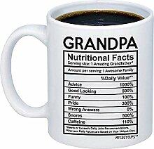 Geschenk für Großvater - Opa Nährwertangaben