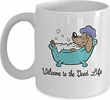 Geschenk für Hundeliebhaber, Willkommen im