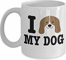 Geschenk gor Hundeliebhaber, ich liebe meinen Hund
