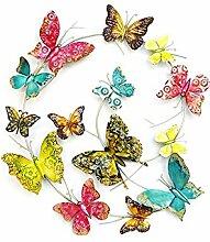 Geschenk-Himmel Wanddeko Schmetterling Gartendeko