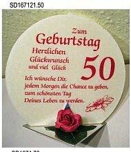 Geschenk Kerze zum 50. Geburtstag Artikel