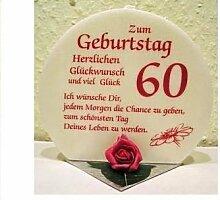 Geschenk Kerze zum 60. Geburtstag Artikel