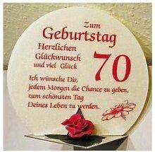 Geschenk Kerze zum 70. Geburtstag Artikel