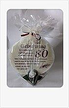 Geschenk Kerze zum 80. Geburtstag Artikel