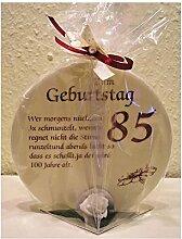 Geschenk Kerze zum 85. Geburtstag Artikel