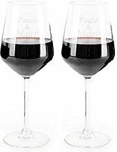 Geschenk Original Weinglas Bordeaux Glas mit Ihrem