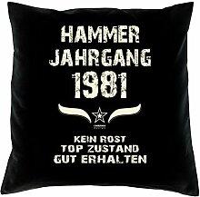 Geschenk Set 37. Geburtstag : Hammer Jahrgang 1981