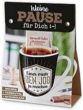 Geschenk Set Becher Kaffe-Tasse - Tee - Büro Chef