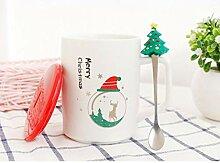 Geschenk Tasse 350Ml Geschenk Weihnachtskeramik