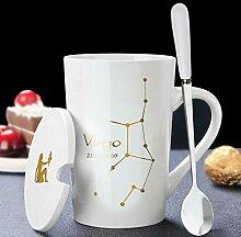 Geschenk Tasse Kaffeekeramikbecher 12