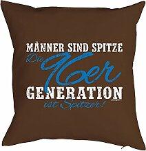Geschenk zum 21 Geburtstag Kissenbezug Männer ...96er Generation ist spitzer! Geschenkidee zum Geburtstag Polster zum 21. Geburtstag für 21-jähirge
