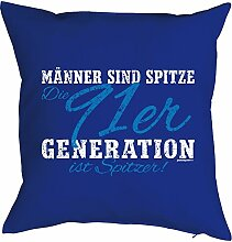 Geschenk zum 26 Geburtstag Kissenbezug: Männer ... 91er Generation ist spitzer! Geschenkidee zum Geburtstag Polster zum 26. Geburtstag für 26-jähirge