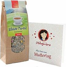 Geschenk zum Muttertag * Muttertaggeschenk * Originelle Geschenkidee zum Muttertag – Geschenke für Mütter - Mama Geschenk - Tee Muttertag von MyOma mit GRATIS Karte – SOFORT LIEFERBAR