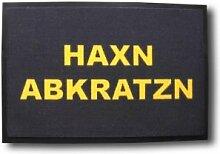 Geschenkbox Fussmatte Haxn abkratzn