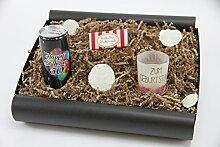 """Geschenkbox von Herzen """"50´ Secco Bianco"""" - Geschenk zum 50 Geburtstag (Secco Bianco + Teelicht + Schokolade)"""
