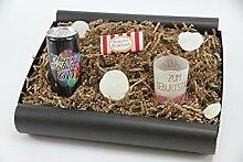 """Geschenkbox von Herzen """"60´ Secco Bianco"""" - Geschenk zum 60 Geburtstag (Secco Bianco + Teelicht + Schokolade)"""