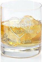 Geschenke 24: Personalisiertes Whiskyglas Just You