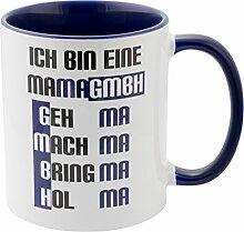 Geschenke 24 Tasse – Mama GmbH: witzige