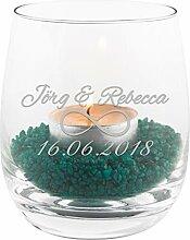Geschenke 24 Teelicht zur Hochzeit mit