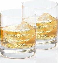 Geschenke 24: Whiskyglas mit persönlicher Gravur