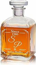 Geschenke 24: Whiskykaraffe mit Initialen -