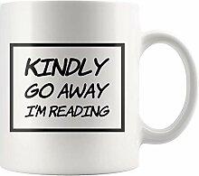 Geschenke für Leser Buchliebhaber gehen bitte weg
