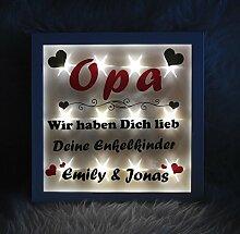 Geschenketorten-Gebhardt Bilderrahmen beleuchtet