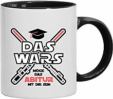Geschenkidee Abschluss Kaffeetasse Becher Tasse