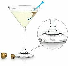 Geschenkidee.de Martini-Glas mit Gravur |
