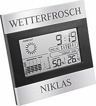 Geschenkidee.de Personalisierte Wetterstation