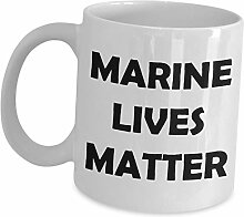 Geschenkidee für Marine-Biologisten-Tassen,