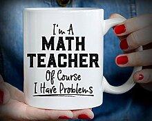 Geschenkidee für Mathematiklehrer Lehrbecher